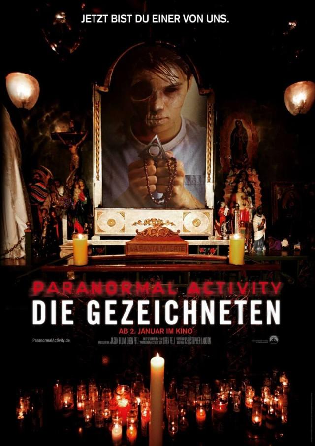 Paranormal Activity - Die Gezeichneten - Finales Kinoplakat