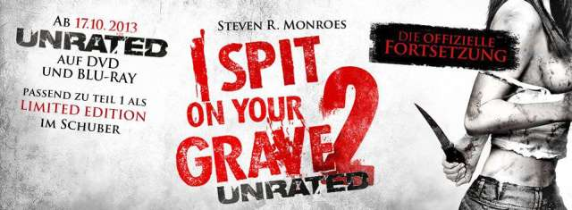 I Spit On Your Grave 2 - DVD und Blu-ray Deutscher Start