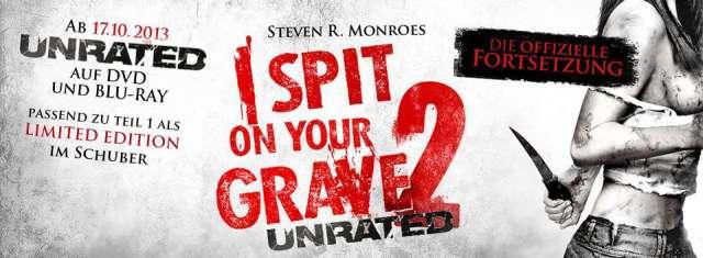 I Spit On Your Grave 2 - DVD und Blu-ray Deutscher Start