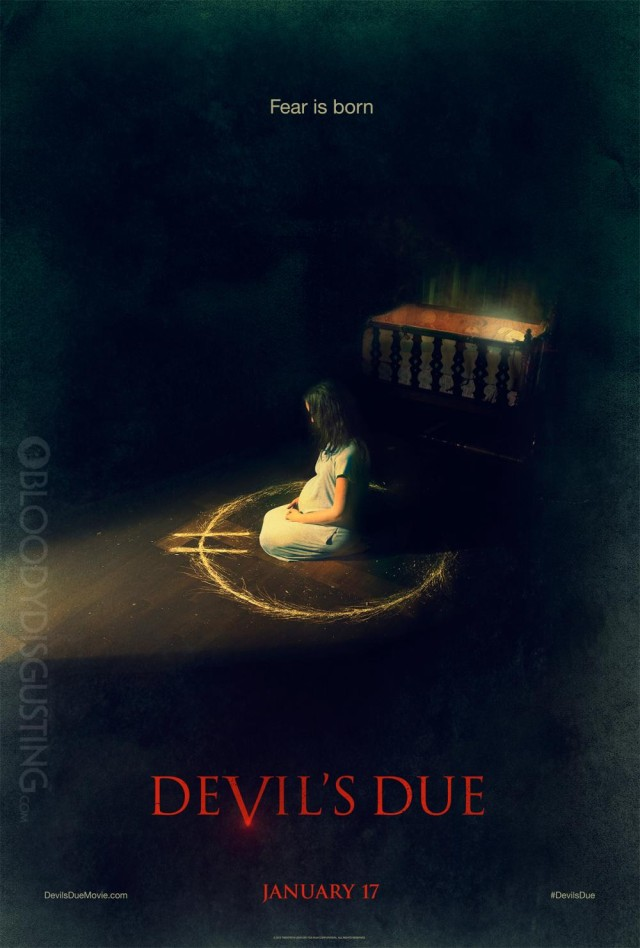 Devil's Due Teaser Poster