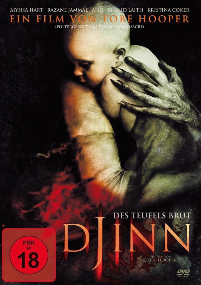 Djinn - Des Teufels Brut - DVD Cover FSK 18