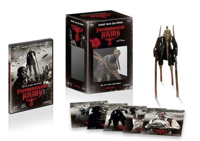 Frankensteins Army - Limited Uncut Fan Edition - Box Ansicht