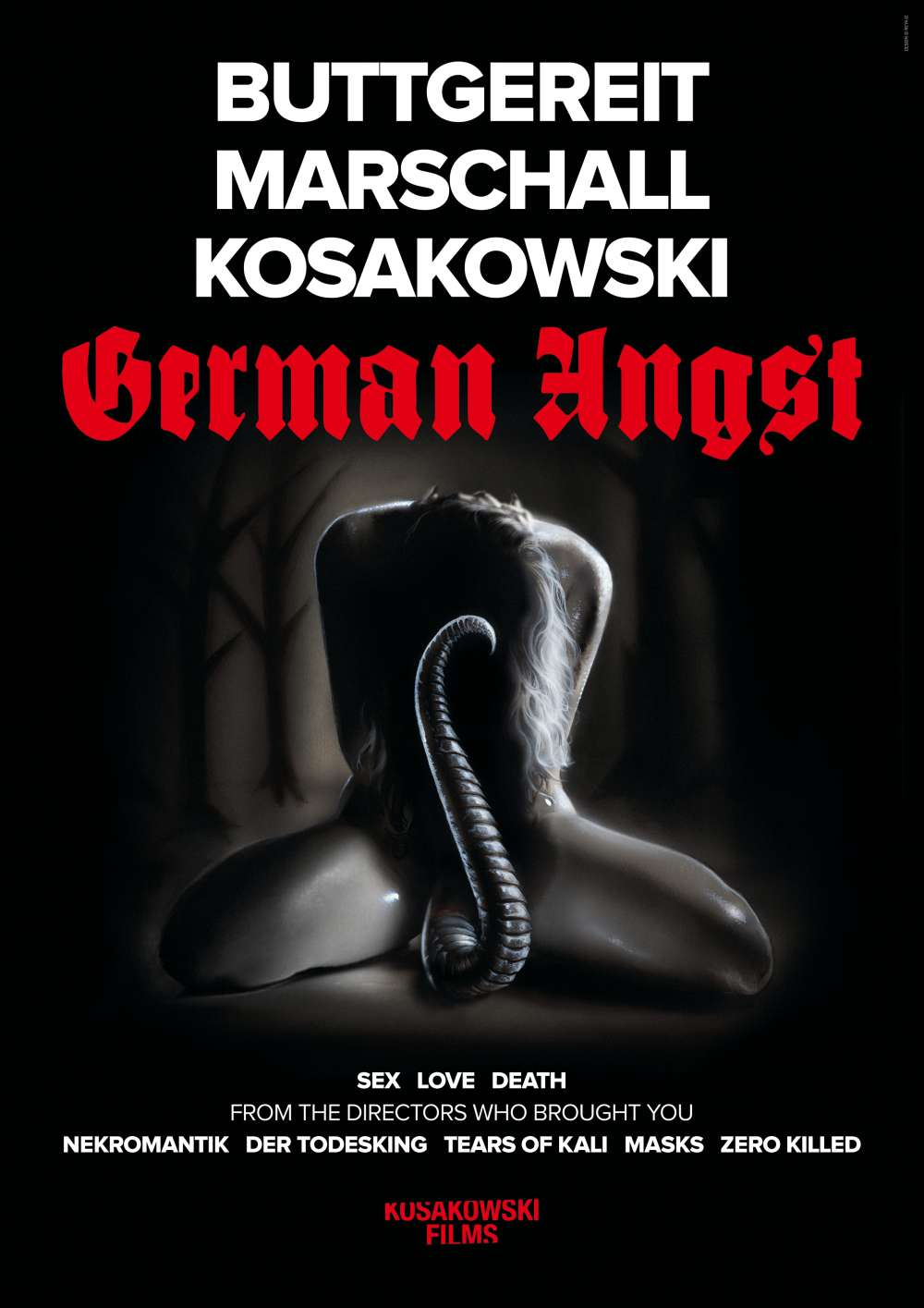 German Angst Teaser Poster