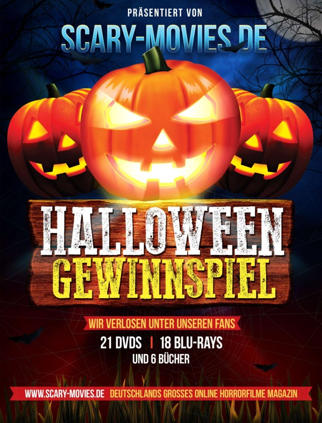 Halloween 2013 Gewinnspiel Flyer