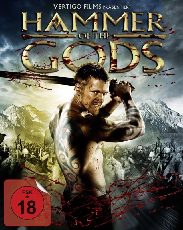 Hammer of the Gods DVD Cover FSK 18