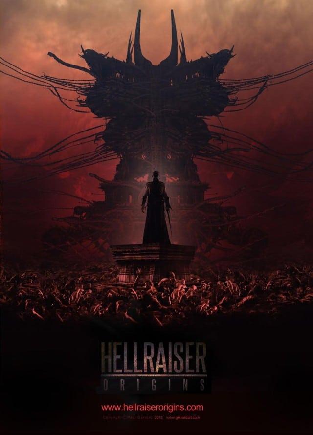 Hellraiser Origins Teaser Artwork Poster