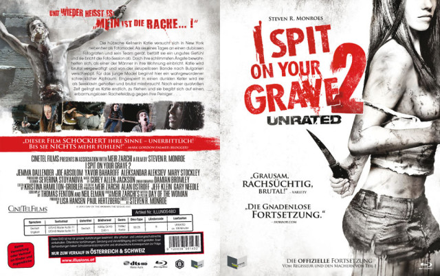 I Spit on your Grave 2 - Blu-ray Cover