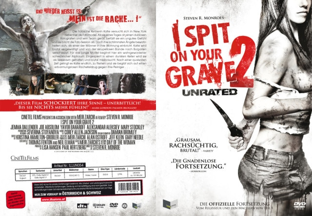I Spit on your Grave 2 - DVD Cover