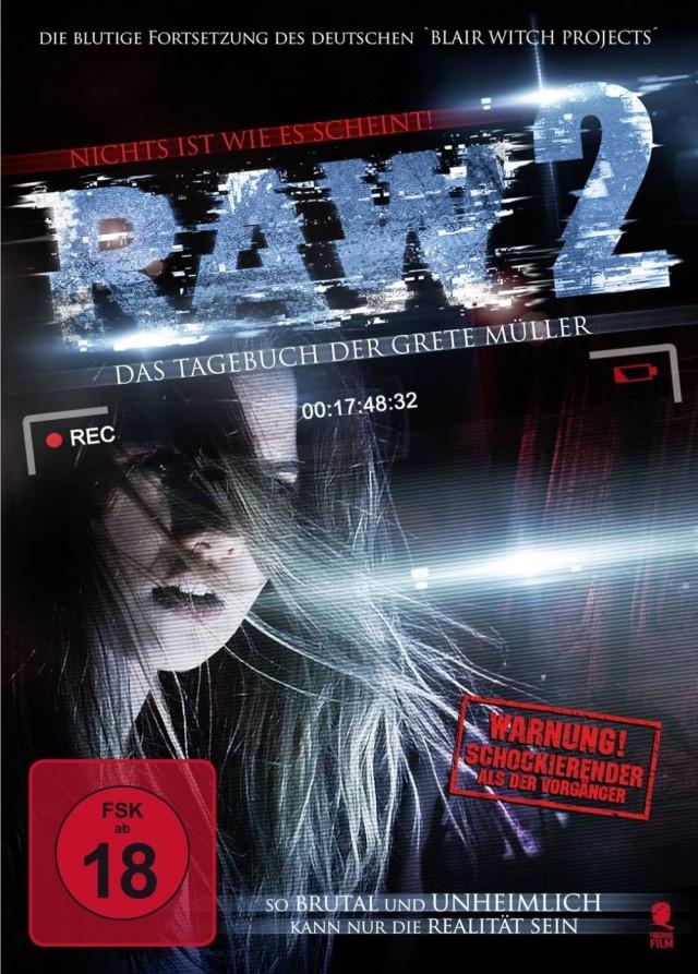 RAW 2 - Das Tagebuch der Grete Müller - DVD Cover FSK 18