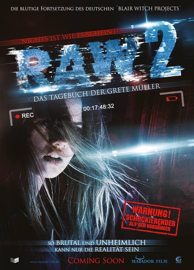 RAW2 - Teaser Poster