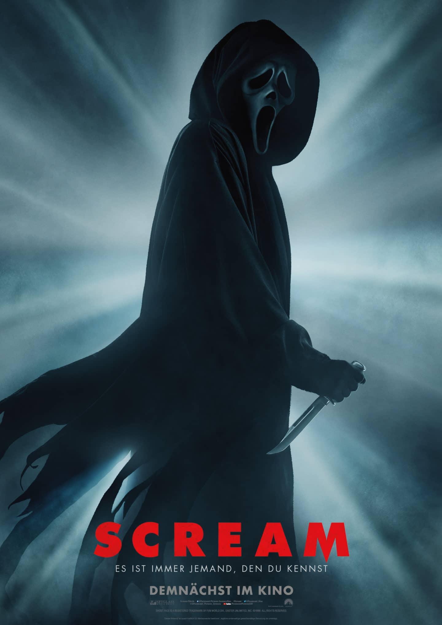 Scream 2021 – Deutsches Kino Poster