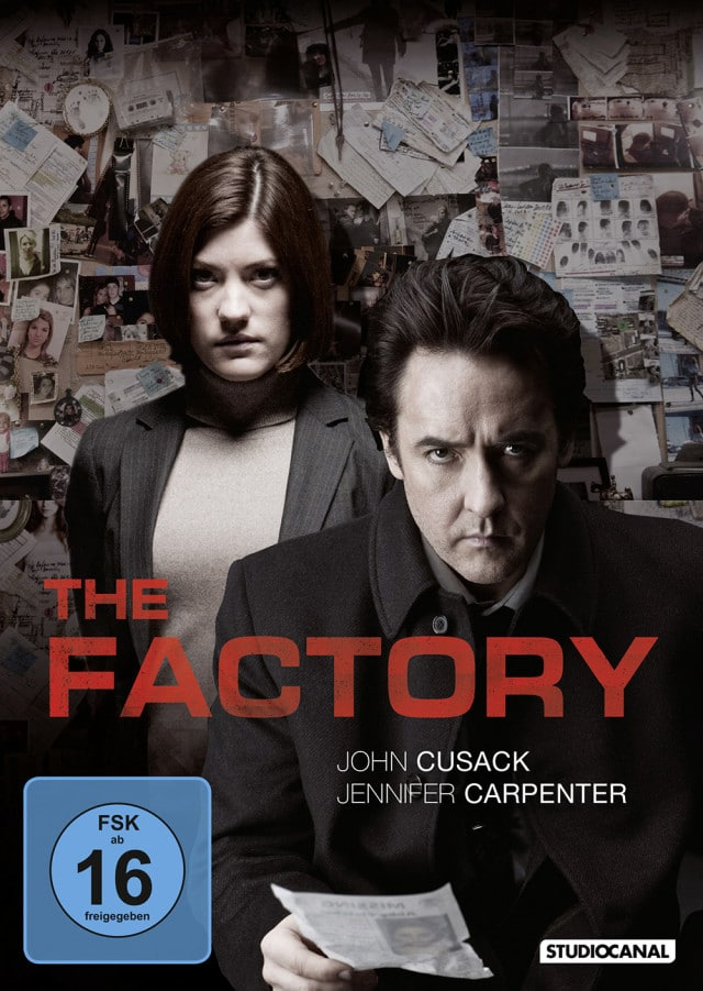 The Factory - DVD Cover FSK 16