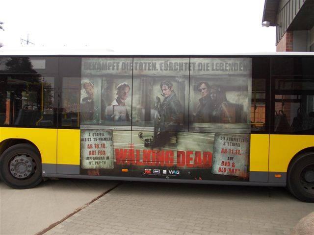 The Walking Dead Bus Berlin 2