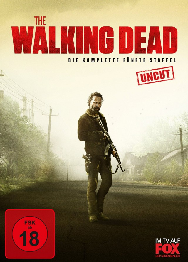 The Walking Dead - Die komplette fünfte Staffel - Unuct - DVD Cover