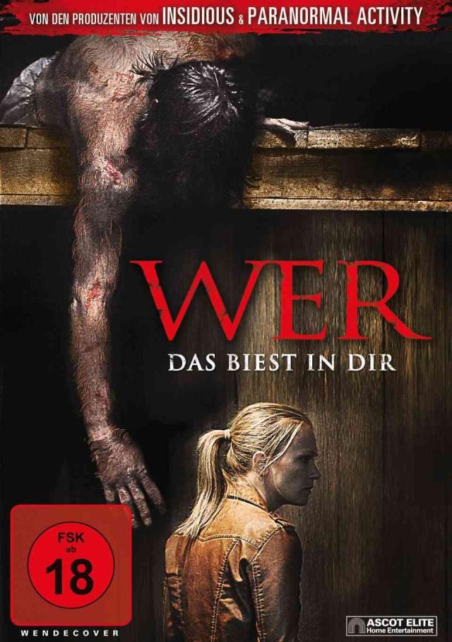 Wer - Das Biest in Dir - DVD Cover FSK 18