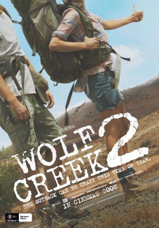 Wolf Creek 2 - Australisches Teaser Poster