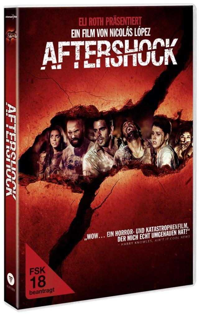 Aftershock – Die Hölle nach dem Beben - FSK 18 Blu-ray Vorab-Cover
