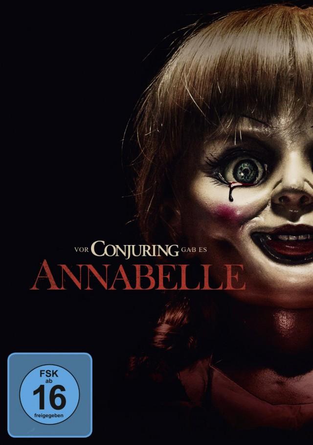 Annabelle - DVD Cover FSK 16