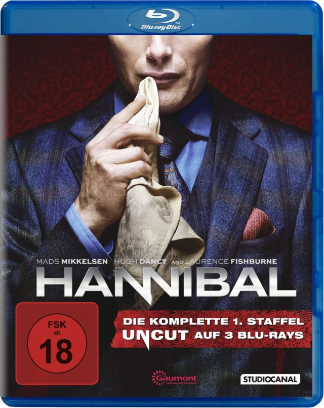 Hannibal1 Staffel 1 - Blu-ray Cover FSK 18 Uncut