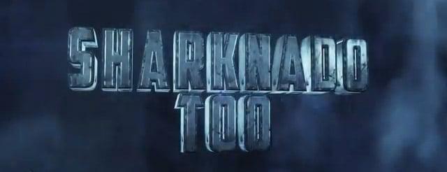 Sharknado 2 Teaser Image