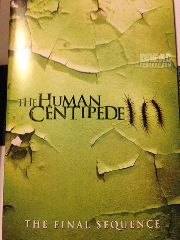 The Human Centipede 3 Sales Artwork