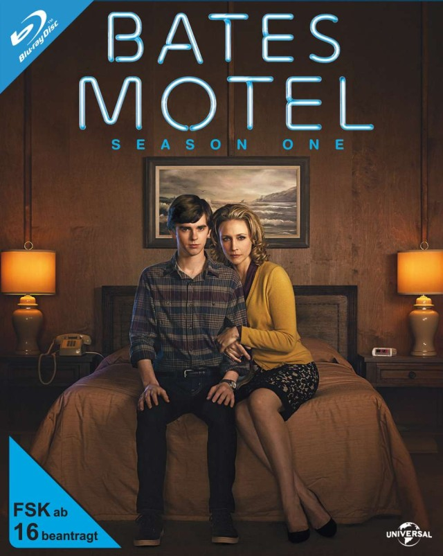 Bates Motel - Staffel 1 Vorläufiges Blu-ray Cover