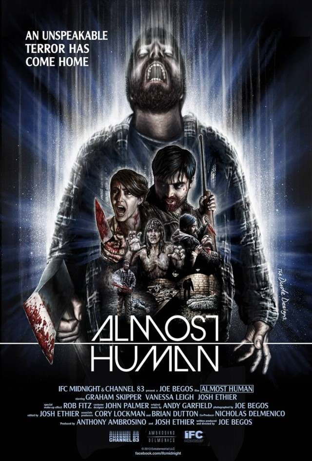 Almost Human - US Teaser Poster