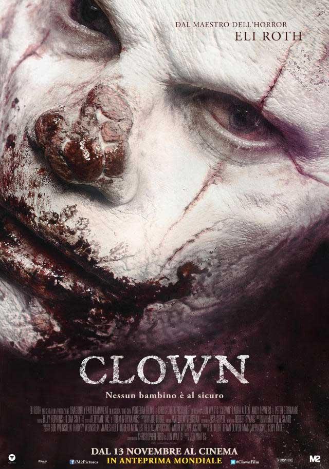 Clown - Italienisches Teaser Poster