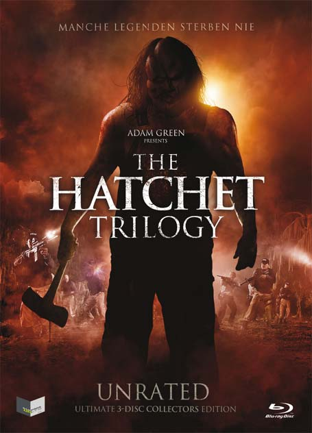 Hatchet Trilogy - Blu-ray Front Cover