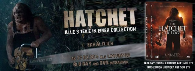 Hatchet Trilogy - Lim. Ultimate Uncut Collectors Edition