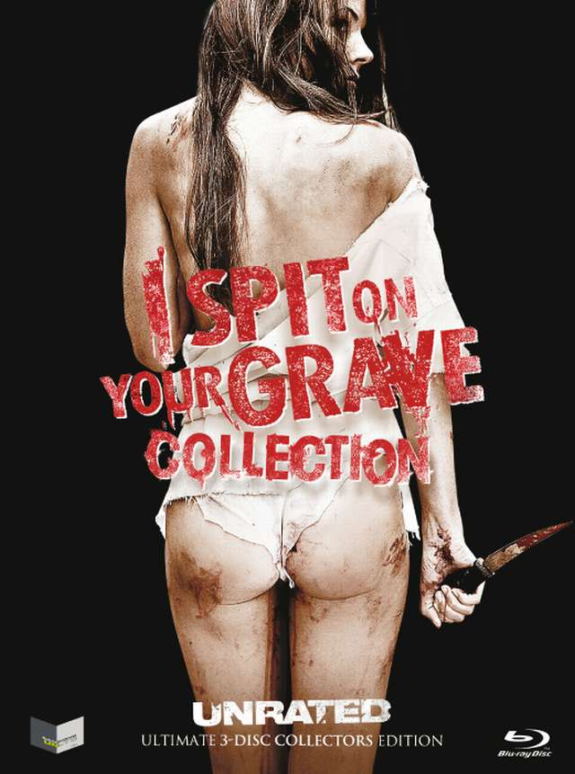 ISPIT ON YOUR GRAVE - Blu-ray Collection - UNRATED Ultimate 3-Disc Collectors Edition