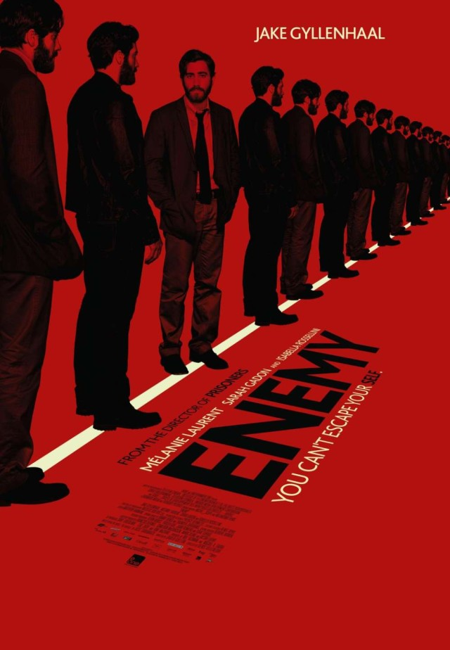 Enemy - You cant escape yourself - Teaser Poster