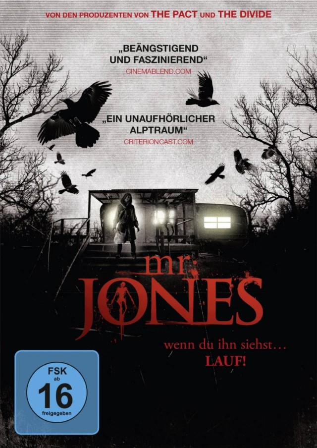 Mr. Jones - DVD Cover FSK 16
