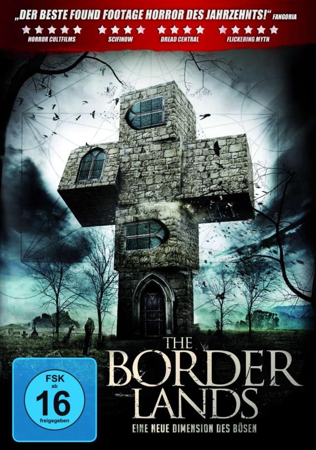 The Borderlands - DVD Cover FSK 16