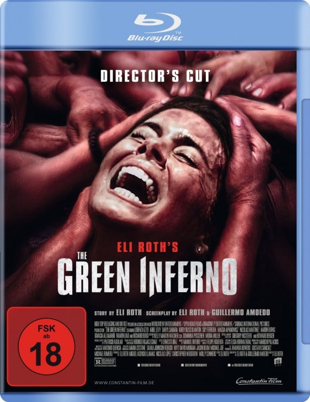 The Green Inferno - Blu-ray Cover Final