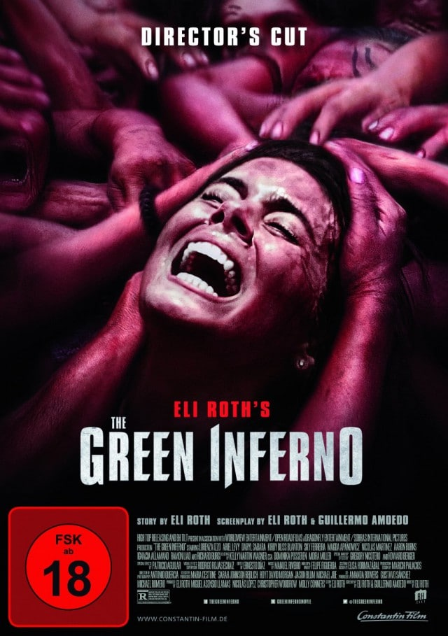The Green Inferno - DVD Cover Final