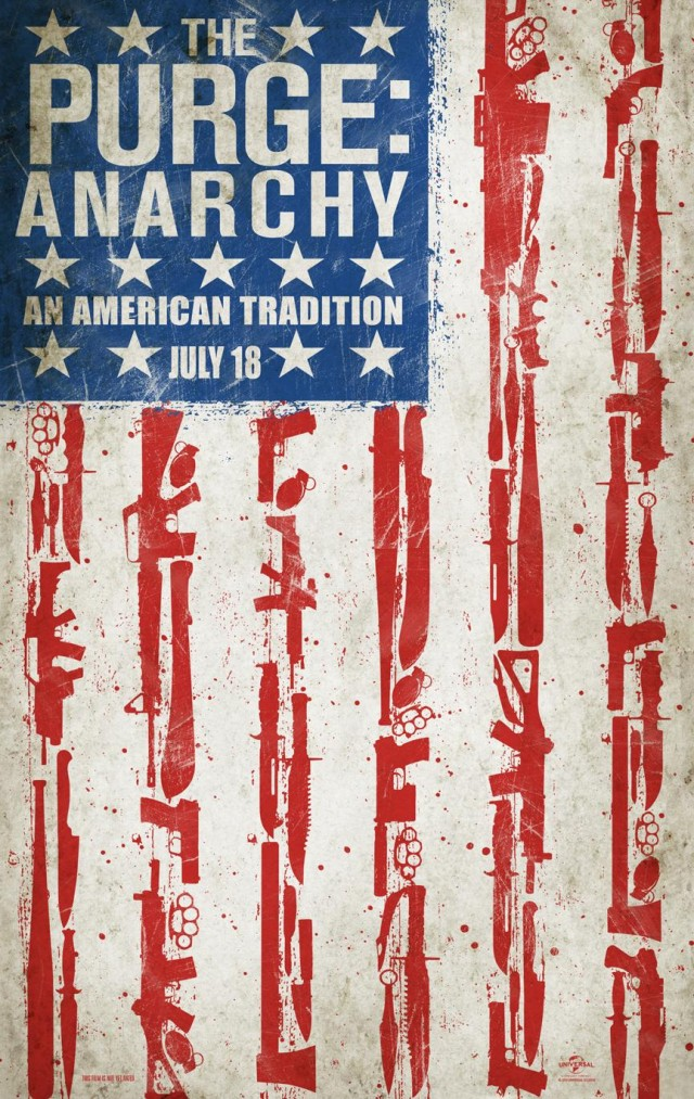 The Purge - Anarchy - Internationales Teaser Artwork