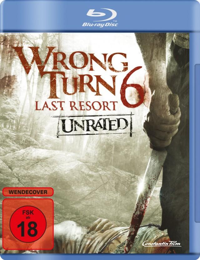 Wrong Turn 6 - Last Resort - Blu-ray Cover FSK 18