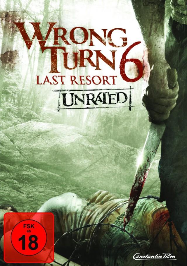 Wrong Turn 6 - Last Resort - DVD Cover FSK 18