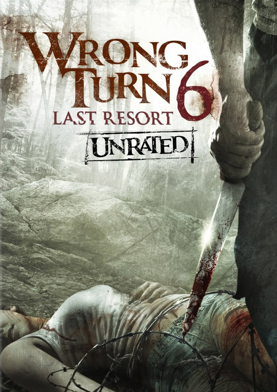 Wrong Turn 6 - Last Resort - US DVD Cover Artwork