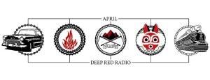 Deep Red Radio – Aprilsendung: Vom Fressen und Gefressenwerden