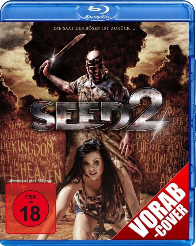 Seed 2 - Vorab DVD Cover FSK 18