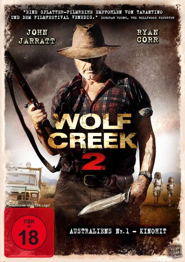 Wolf Creek 2 - DVD Cover FSK 18