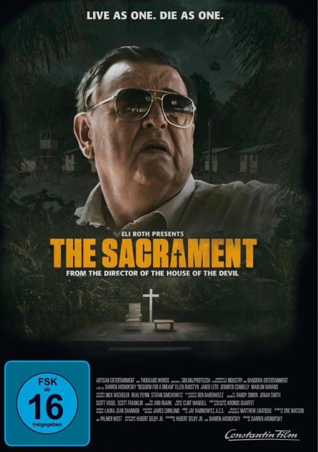 The Sacrament - DVD Poster FSK 16