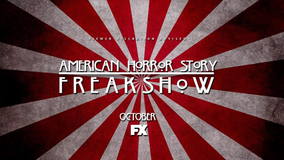 American Horror Story – Freak Show – Staffel 4 Teaser Artwork