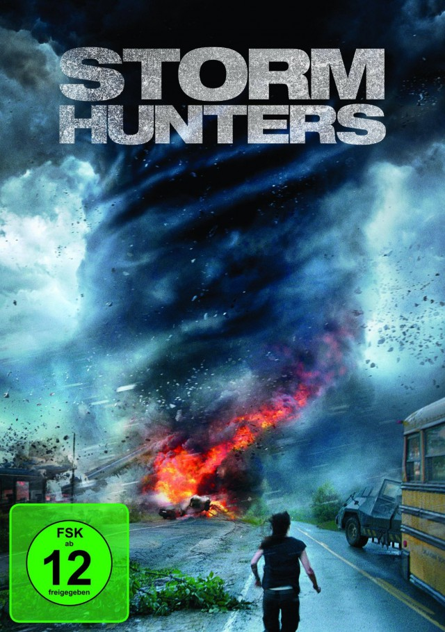 Storm Hunters - DVD Cover FSK 12