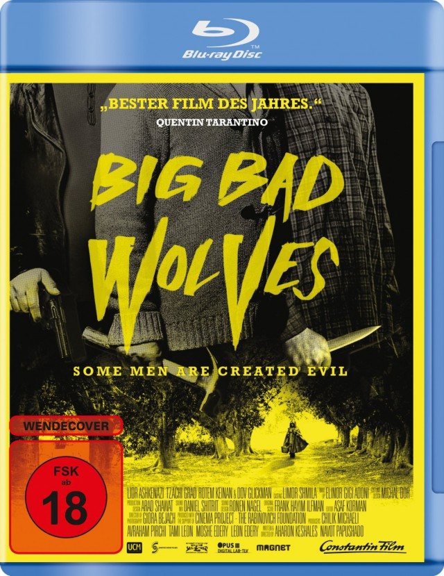 Big Bad Wolves - Blu-ray Cover FSK 18