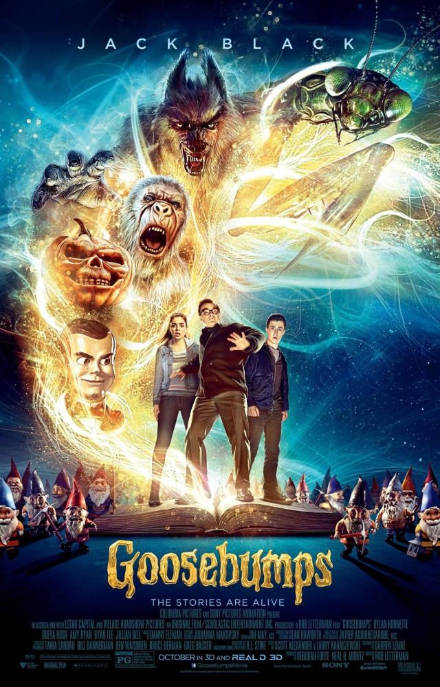 Goosebumps - Gänsehaut - 2015 Poster