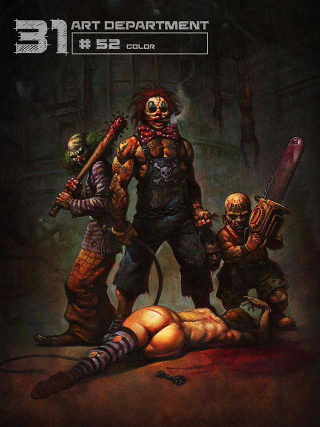 31 Rob Zombie Artwork