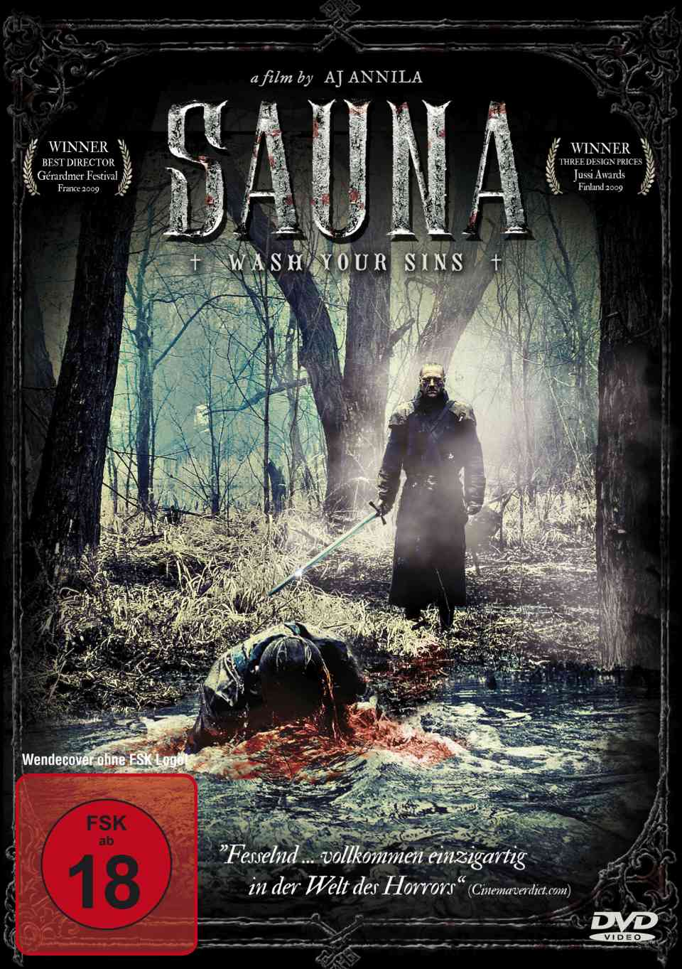 sauna film 2008 scary. Black Bedroom Furniture Sets. Home Design Ideas